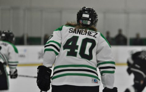 Gabi plays JV silver hockey for the school – the top tier for the league.