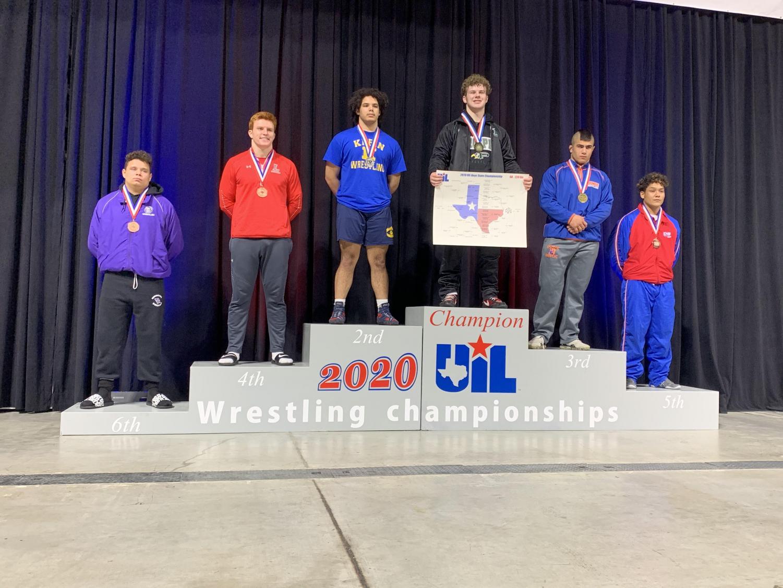 Wrestling teams make top rankings at state