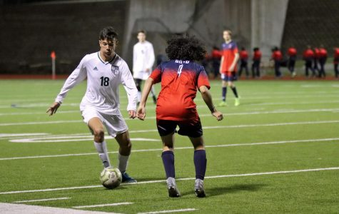 Junior varsity boy's soccer ties McKinney Boyd