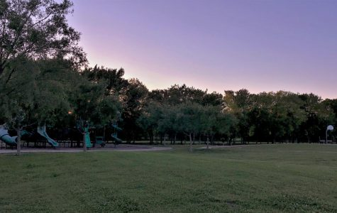 Ledbetter Park - and others - sit empty, not just because of COVID 19 stay-at-home orders, but also because of the weather. A temporary resurgence of winter weather offered residents temperatures that included lows in the 30s, closer to those of Christmas, on this past Easter weekend. A cold front came through the Dallas-Fort Worth area Saturday, creating some gusty winds topping out at almost 40 miles per hour. The front also made for thunderstorms in the area. The Weather Channel forecasts more spring-like temperatures by this Wednesday, however, with the high projected to reach a possible 64 degrees.