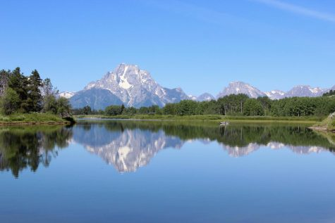 "The reflection of the Grand Tetons glistens on the bend of a river in Teton National Park. Not only has this section of the park become famed for its photography potential, but also for its kayaking and fishing.  ""The hidden beauty of Wyoming caught my eye, and I knew that this would be a wonderful photography opportunity,"" photo editor Christi Norris said. ""I tried to capture in these pictures how I felt when I was in these beautiful places. """