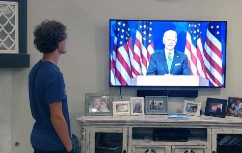 Junior Caleb Audia breaks down the Democratic National Convention, a four-night event, for readers. The nationwide virtual meeting  started its first evening of business on Monday, Aug. 17. The virtual event was able to host many special guests including the Obamas, the Clintons, Billie Eilish, and senator Bernie Sanders. On the fourth night, Democratic Presidential nominee, Joe Biden, broadcasted his acceptance speech, making a plethora of campaign promises - including American-made jobs, healthcare initiatives and COVID-19-protection efforts.