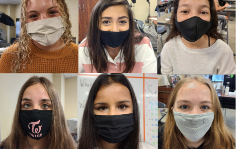 To follow school guidelines, ENO staff members wear their masks during class. Students had the option to attend on-campus instruction or virtual learning, beginning August 12. All students and staff are required to wear a face mask inside the building.