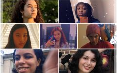 In the collage above, female students of color are pictured, friends of columnist Kalyani, with her in the bottom right.