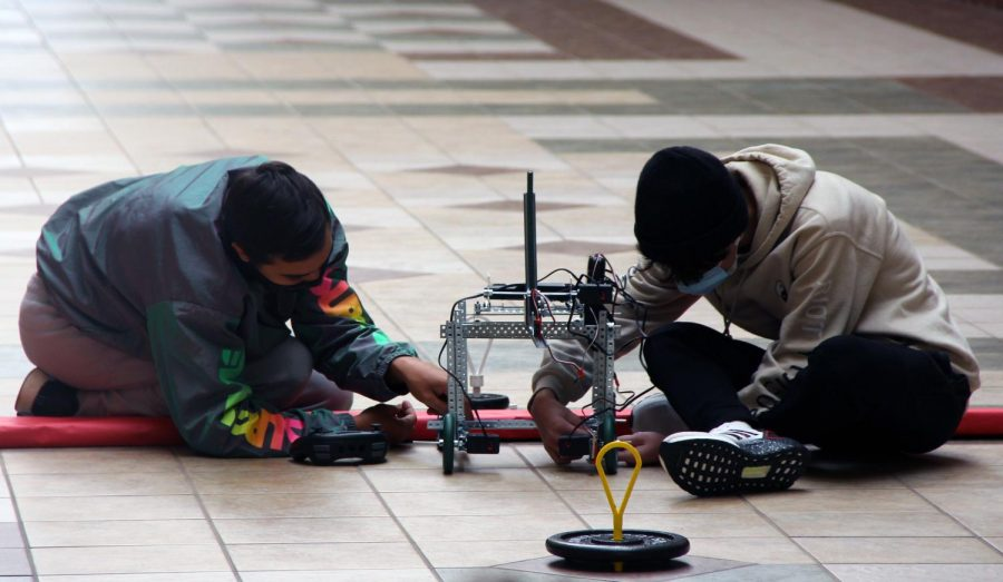 Engineering students put robots to test in competition