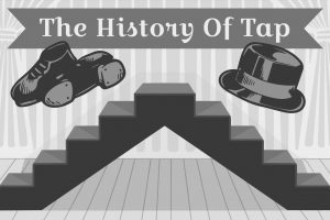 Black History Month takes place throughout the month of February. In this graphic design by senior Mark Chrissan, tap shoes and a top hat hover above a set of stairs, made famous by the tap dancer Bill Bojangles Robinson. In this article, columnist Maddie Moats runs through a summary of tap history and its significance to African American history.