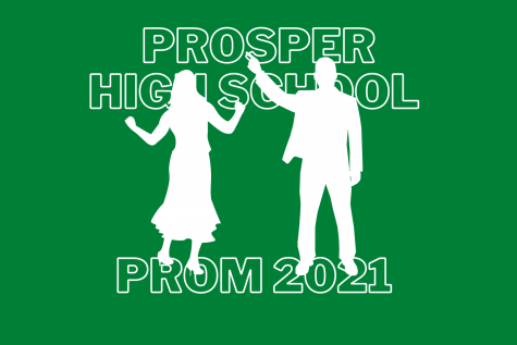 "In a graphic created by sophomore Gianna Galante, highlights prom, which will be May 15. Prom will take place at the Frisco Omni Hotel from 7-11 p.m. ""I was a little disappointed because I lost the opportunity to go to prom with my friends who were seniors last year,"" senior Emma Bish said. ""But I'm excited to be attending prom this year."""