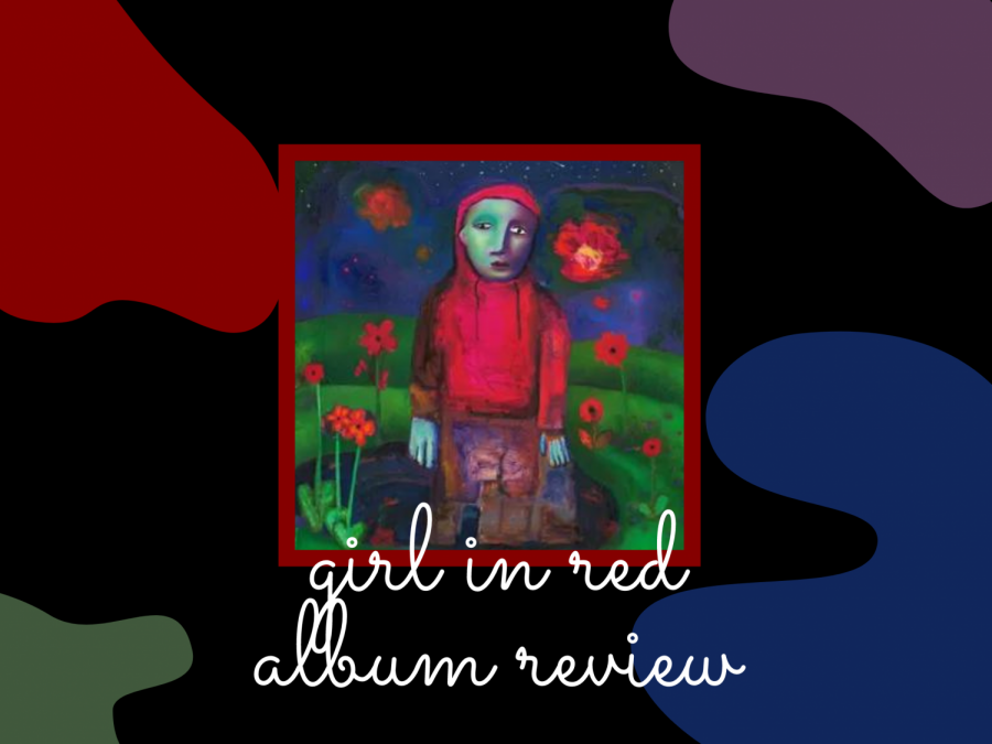 A graphic made by Gianna Galante features the album cover of