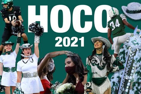 A digitally constructed image created by senior graphic designer Caitlyn Richey represents Homecoming week. Homecoming week is Sept. 20-24 with the parade on Wednesday, game on Friday, and dance on Saturday. There are also dress up days throughout the week.