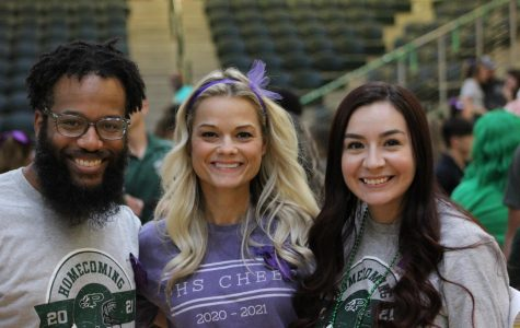 Freshman cheerleading coach faces new role, challenges