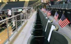 In honor of the 13 fallen U.S. soldiers in Kabul, Afghanistan, the varsity volleyball team reserved 13 front row seats on the home side for Fridays game. This is due to the Thursday, Aug. 26 bombing at an airport in Afghanistan, where the U.S. Army was evacuating people. The bombing caused several civilian causalities as well.