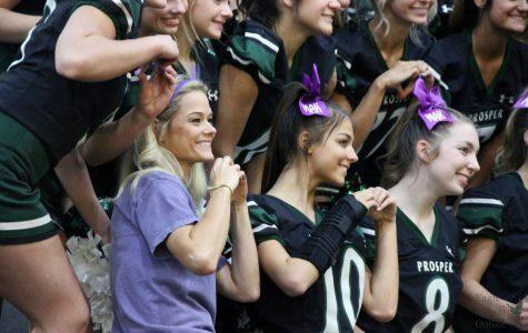JV cheer coach defines leadership through coaching, teaching