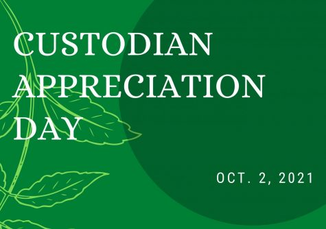 In a digitally-constructed image from Canva created by senior writer Alyssa Clark, the date of Custodian Appreciation Day is shown. Custodians  help clean up the school, refill the bathroom with paper towels, clean out the trash cans and more. Custodian Appreciation Day occurs every year on the same day.